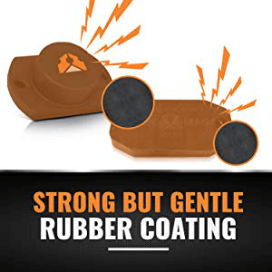 gun magnet rubber coating